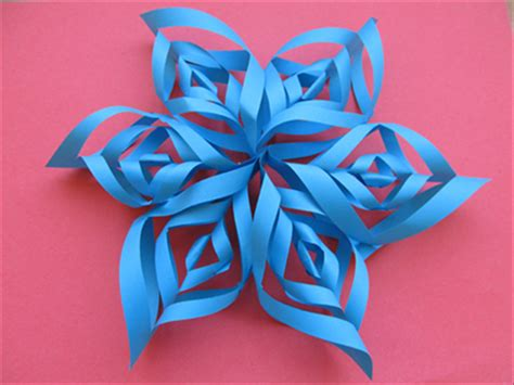 How To Make Paper Look 3d - 9 snowflake crafts diy thought