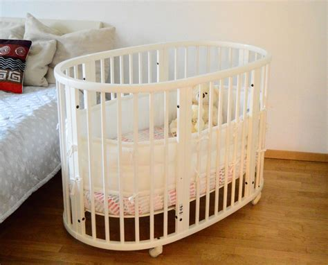 Convertible Baby Crib Stokke Sleepi Bed Currently Wearing Crib Next To Bed