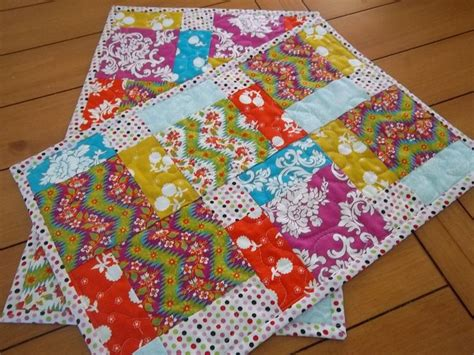 Free Easy Quilted Placemat Patterns by Placemat Pattern Tutorial Use A Charm Pack Pdf