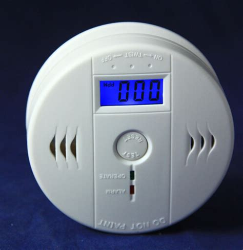 Carbon Monoxide Smoke Alarm Detector Detektor Co2 portabel co detektor en50291lcd co keracunan karbon monoksida sensor sensor gas asap alarm