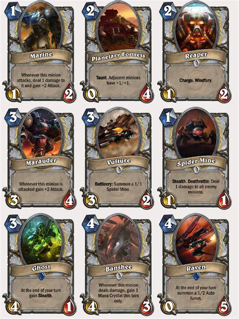 printable hearthstone card list starcraft karakterleri hearthstone oyununa gelirse frpnet