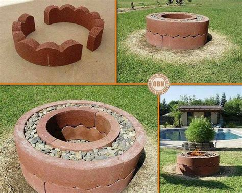 Make Your Own Firepit Make Your Own Pit Gardening That I