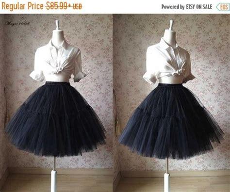 Rok Tutu Brenda Mini Skirt black tulle skirt knee tulle skirt bachelorette tutu