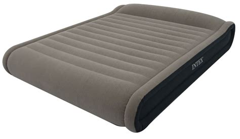 How To Deflate Intex Air Mattress by Intex Deluxe Mid Rise Pillow Rest Air Bed Size