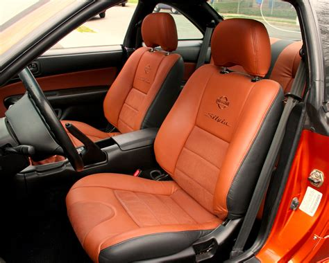 what is car upholstery before after 1995 nissan 240sx