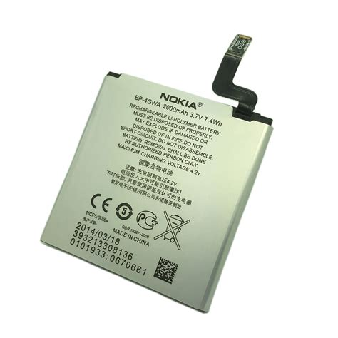 Baterai Nokia Lumia 720 Bp 4gwa Ori pin lumia 720 microsoft nokia bp 4gwa original battery