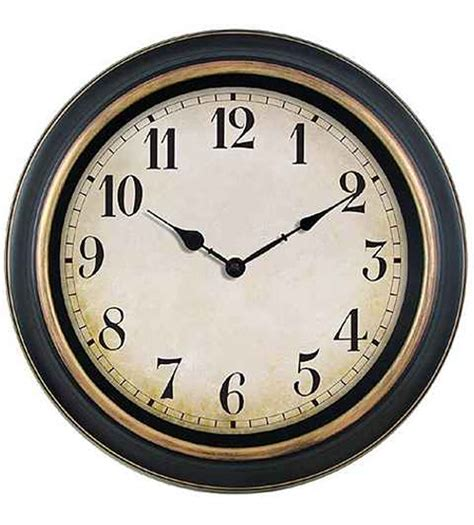 house clock antique 40cm wall clock gray house promotions