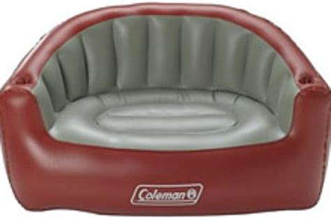 coleman inflatable loveseat nissan airstream basec trailer uncrate