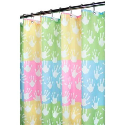 kid shower curtain buy kids bright colored shower curtains from bed bath beyond