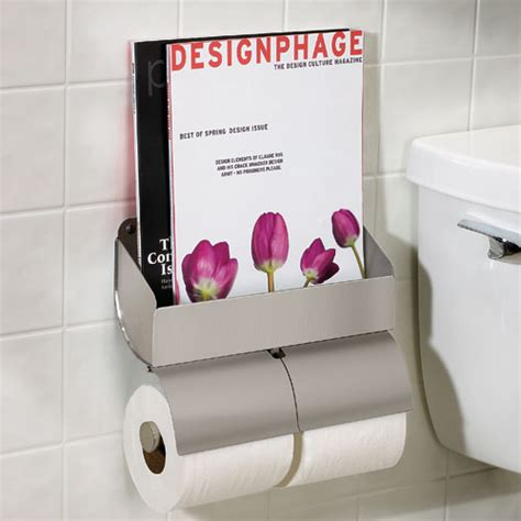magazine holder for bathroom organize it home office garage laundry bath
