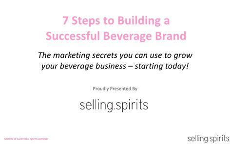 7 Home That You Can Explore This Year by 7 Secrets To Launching A Successful Beverage Brand