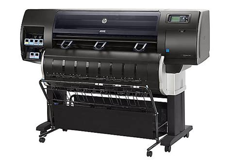 best large format plotter hp designjet t7200 production printer large format