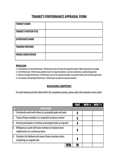 monthly review template 6 monthly review form sle free sle exle