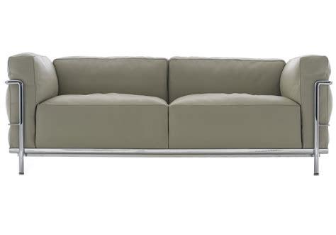 divano le corbusier lc3 divano 2 posti cassina milia shop
