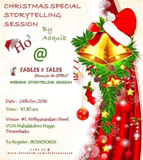 christmas special storytelling session kids contests