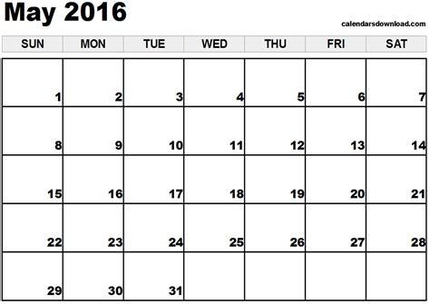may 2016 calendar may 2016 calendar