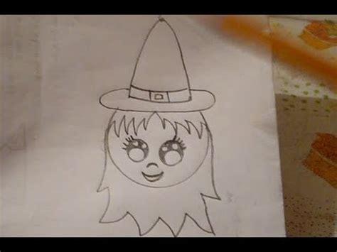 imagenes de calaveras y calabazas dibuja una brujita f 225 cil d 237 a de muertos halloween youtube