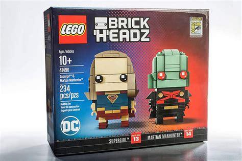 Lego Brickheadz Sdcc 41497 Spider Venom Original lego brickheadz dc supergirl martian manhunter 41496 sdcc 2017 exclusive the brick fan