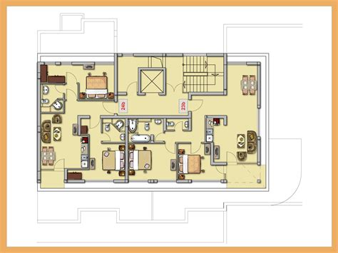 floor plan sle with measurements kitchen floor plan ideas floor plan option 3 home ideas
