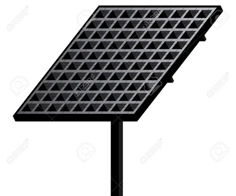 solar panels clipart white light solar clipart clipground