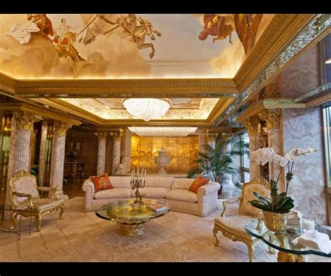 trump s apartment pics en images l appartement new yorkais hallucinant de