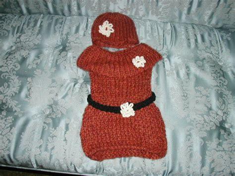 loom knit baby dress baby dress