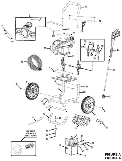 Blackmax Bm80919e 2800 Psi Pressure Washer Parts And