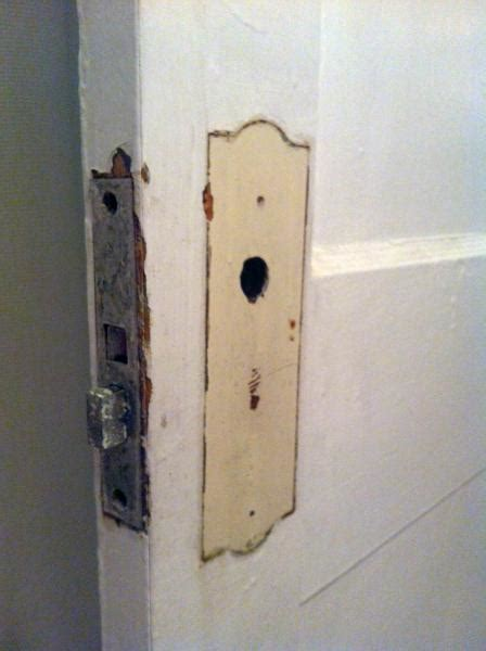 door lock trouble trouble remiving fixing an mortise lock doityourself