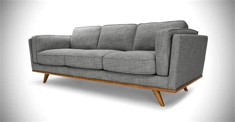 modern couches and sofas timber pebble gray sofa sofas article modern mid