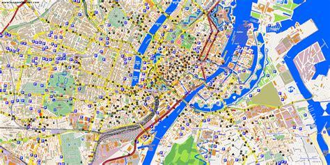 Kopenhagen Land by City Maps Copenhagen