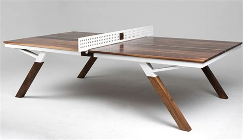 Dining Table Tennis The Dining Table That S Also A Ping Pong Table Made