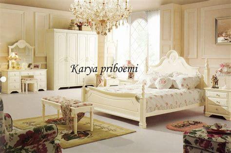 set putih kamar set duco putih
