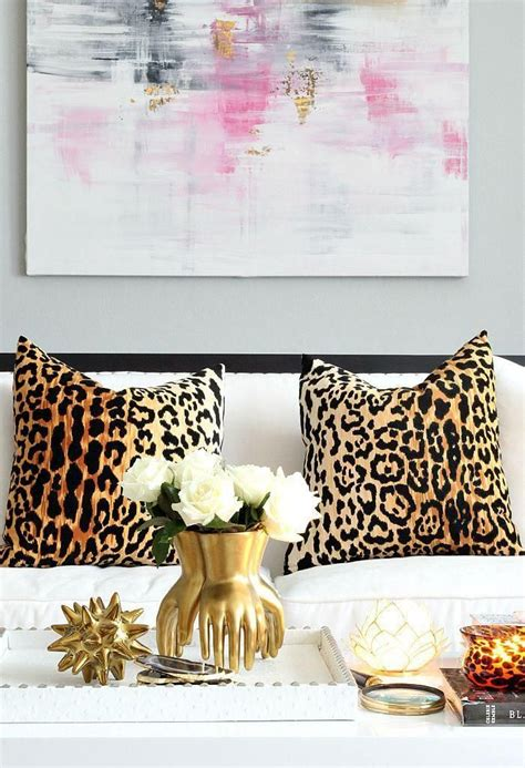 leopard home decor best 25 animal print decor ideas on pinterest animal