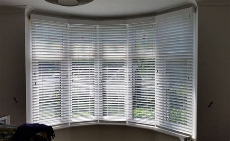 Bow Window Curtains Ideas colchester wooden venetian blinds