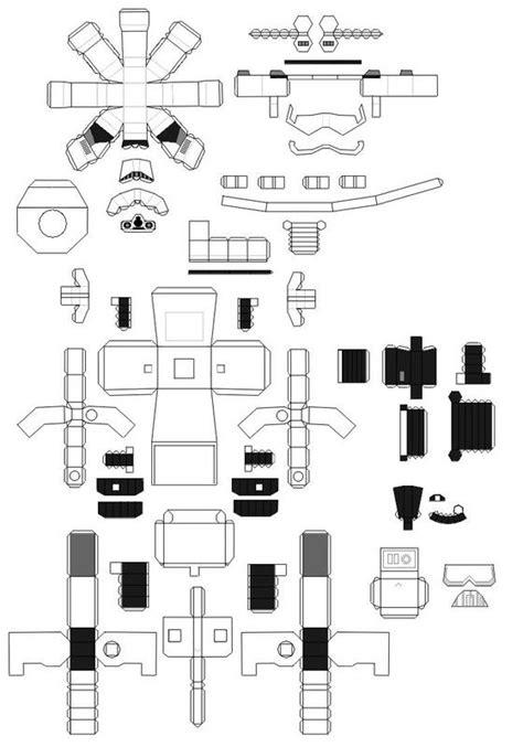 How To Make A Paper Wars Gun - diy stormtrooper papercraft papercraft stenciling and lego