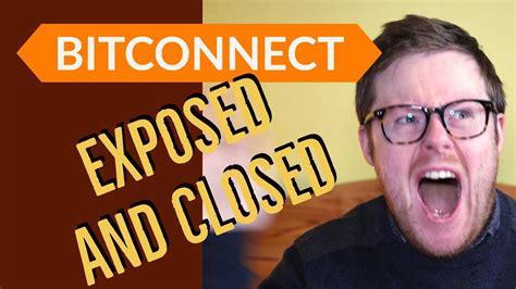 bitconnect shutdown bitconnect shutdown the bitconnect ponzi scam exposed and