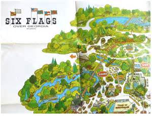 us map of six flags boomerville usa six flags me