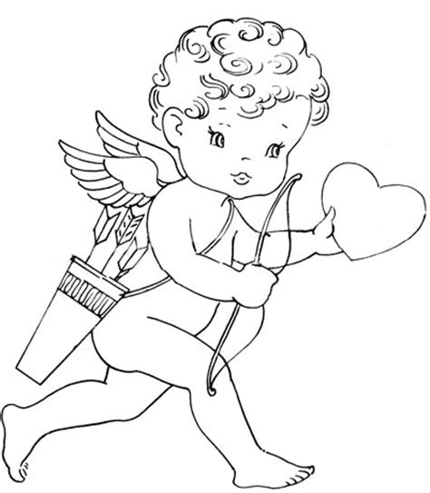valentine angels coloring pages vintage valentine embroidery transfers q is for quilter