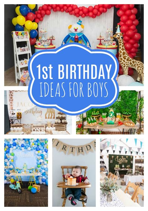 Ee  First Birthday Party Ideas Ee   For Boys Pretty  Ee  Party Ee