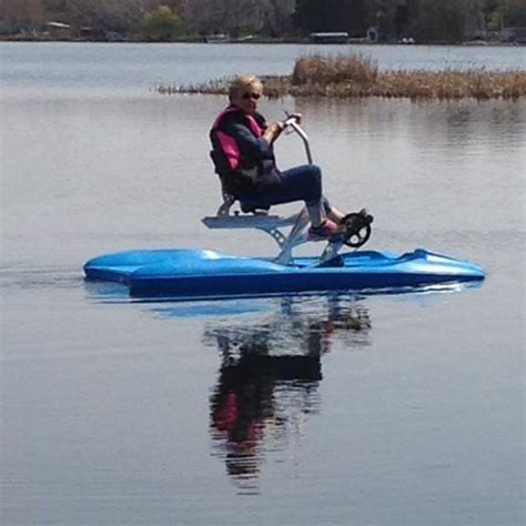 exercise on a boat the benefits of exercising on a water bike itbikes
