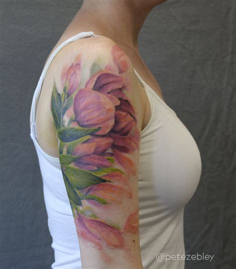 watercolor tulip tattoos best 25 tulip ideas on tiny