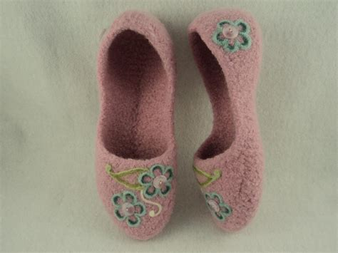 knitted house slippers ladies house slippers felted knit by moniquerae craftsy