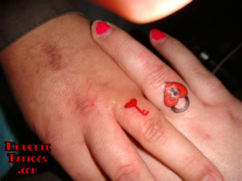 key tattoo on finger key tattoos and designs page 7