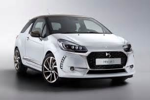 new citreon car new not a citroen ds3 and ds3 cabrio revealed for 2016 by