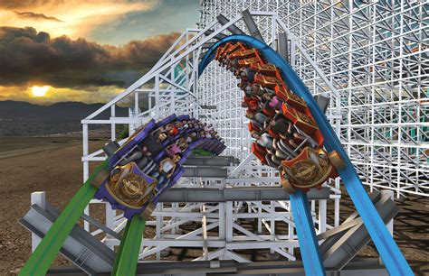 six flags magic mountain six flags magic mountain announces another record breaker