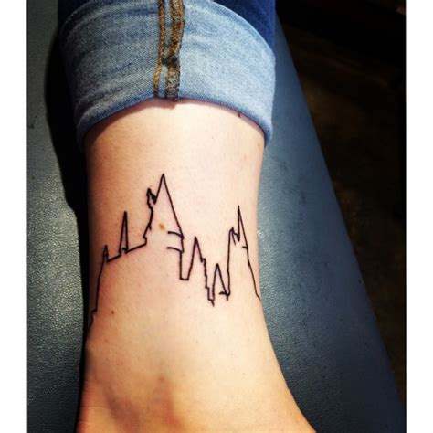 hogwarts castle tattoo 34 harry potter tattoos one is shocking