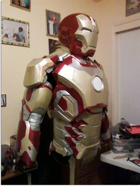 real iron man costume replica