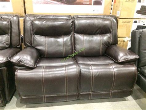 power reclining sofa costco leather reclining sofa loveseat costcochaser