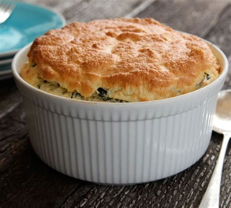 cheese spinach souffle recipe food com double baked souffl 233 s with blue cheese and spinach