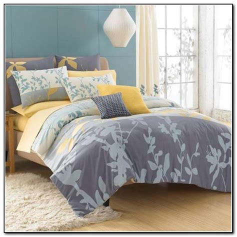 bed and beth yellow and grey bedding bed bath and beyond download page
